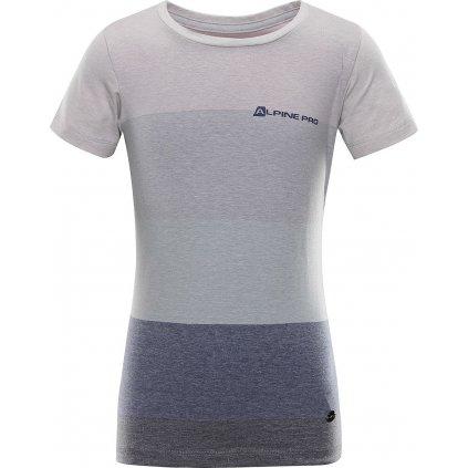 Dětské triko ALPINE PRO Gulio šedá