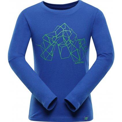 Dětské triko ALPINE PRO Lemko modrá