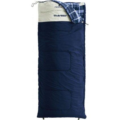 Dekový spací pytel FERRINO Travel 200 modrá