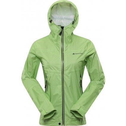 Dámská funkční bunda ALPINE PRO Slocana 4 zelená