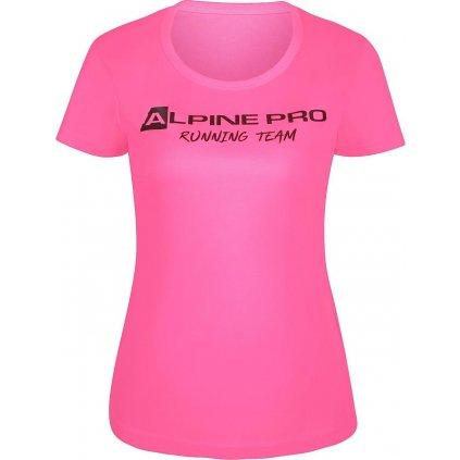 Dámské funkční triko ALPINE PRO Runna růžová