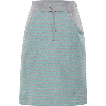 Dámská sukně ALPINE PRO Joira šedá