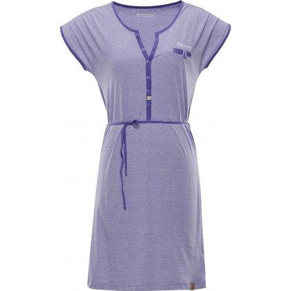 Dámské šaty ALPINE PRO Berka modrá