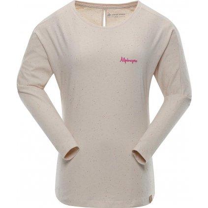 Dámské triko ALPINE PRO Mala 3 béžová