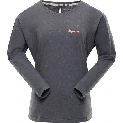 Dámské triko ALPINE PRO Mala 3 šedá