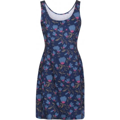 Dámské šaty ALPINE PRO Elanda 3 modrá
