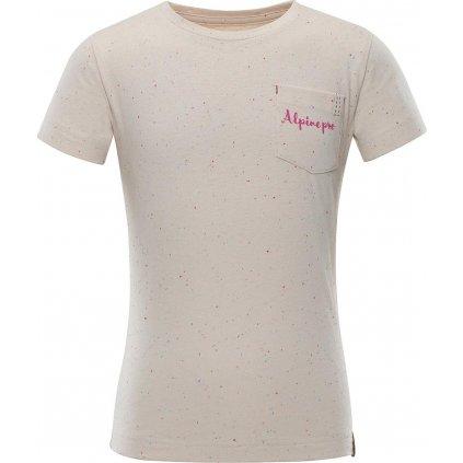 Dětské triko ALPINE PRO Gango růžová