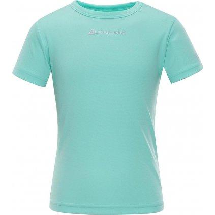 Dětské funkční triko ALPINE PRO Hoto 2 tyrkysová