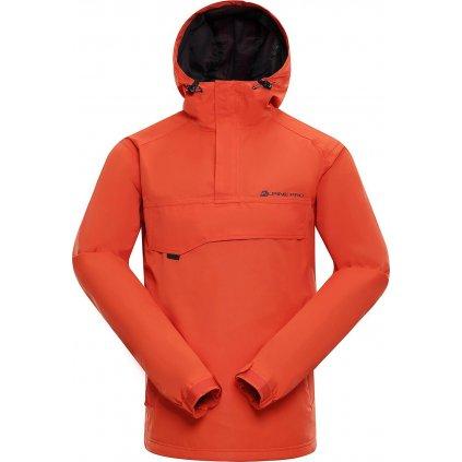 Pánská extra lehká bunda ALPINE PRO Celest oranžová