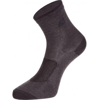 Dětské ponožky ALPINE PRO 3 páry 3rapid 2 černá