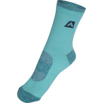 Dětské ponožky ALPINE PRO Rapid 2 tyrkysová