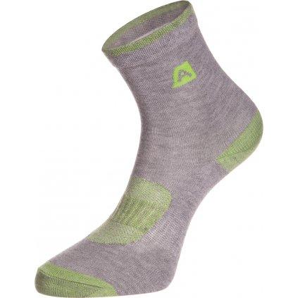 Dětské ponožky ALPINE PRO Rapid 2 šedá