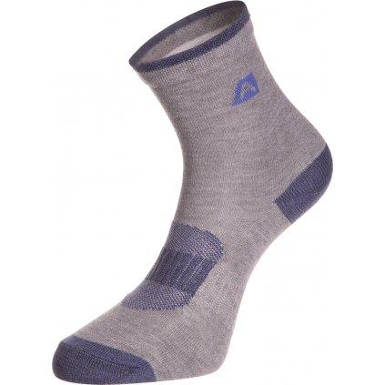 Dětské ponožky ALPINE PRO Rapid šedá
