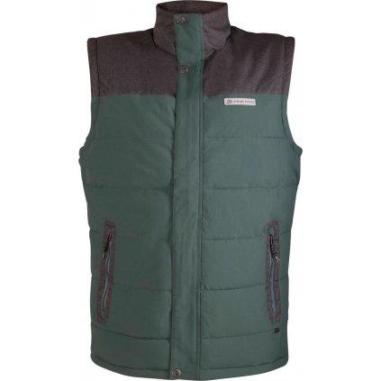 Pánská vesta ALPINE PRO Ruger zelená