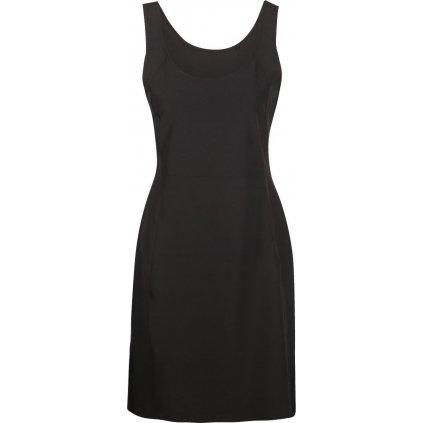 Dámské funkční šaty ALPINE PRO Elanda 3 černé