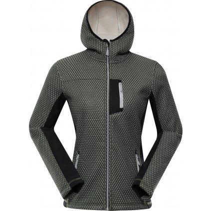 Dámský softshellový svetr ALPINE PRO Alpa černý