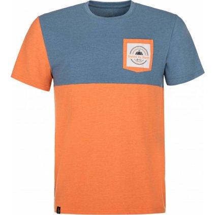 Pánské bavlněné tričko KILPI Melang-m oranžová
