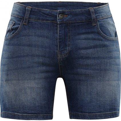 Dámské jeansové kraťasy ALPINE PRO Geryga 2 modrá