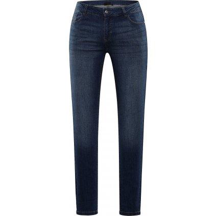 Dámské bavlněné kalhoty ALPINE PRO Pampa 4 modrá