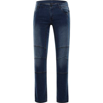 Dámské jeansové kalhoty ALPINE PRO Chizoba modrá