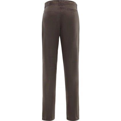 Dámské bavlněné kalhoty ALPINE PRO China hnědá