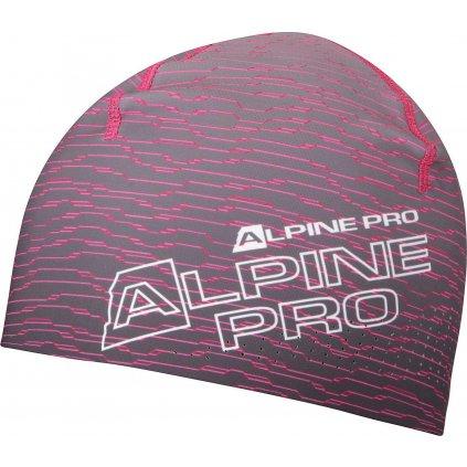 Sportovní čepice ALPINE PRO šedá
