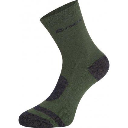 Ponožky ALPINE PRO Gentin 2 zelená