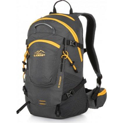 Turistický batoh LOAP Airbone 30 šedá/žlutá