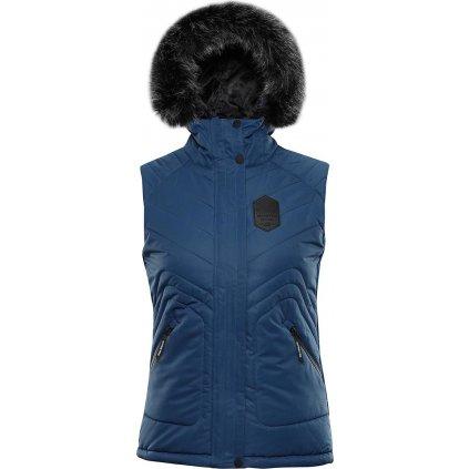 Dámská prošívaná vesta ALPINE PRO Jarvisa 3 modrá