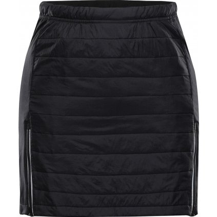 Dámská zimní sukně ALPINE PRO Nila černá
