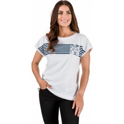 Dámské bavlněné triko SAM 73 Defina bílá