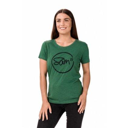 Dámské triko SAM 73 Danneka zelená