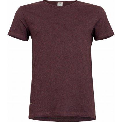 Pánské triko WOOX Rete Violet