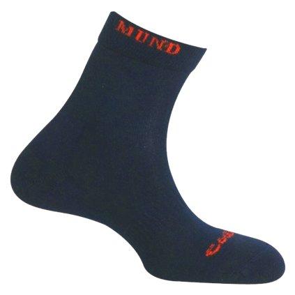 Cyklistické letní ponožky MUND BTT/MB Verano modré
