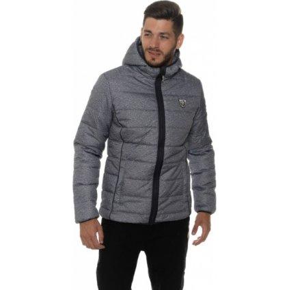 Pánská zimní bunda SAM 73 Frazer šedá