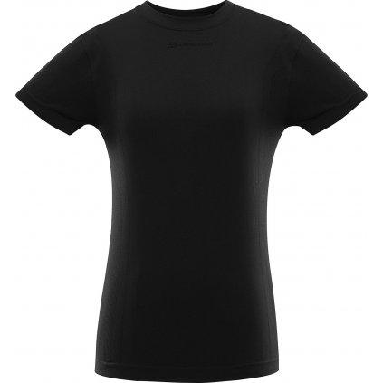 Dámské funkční triko ALPINE PRO Bamba černá