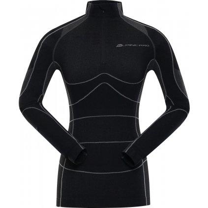 Dámské funkční triko ALPINE PRO Peirosa 2 černá