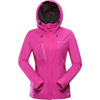 Dámská outdoorová bunda ALPINE PRO Lanka růžová