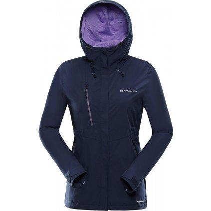 Dámská outdoorová bunda ALPINE PRO Lanka modrá
