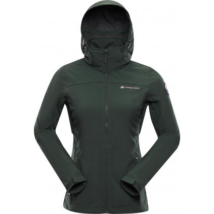 Dámská softshellová bunda ALPINE PRO Nootka 8 khaki