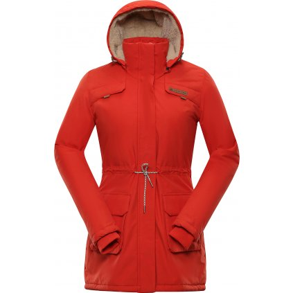 Dámský kabát ALPINE PRO Edite 5 červená