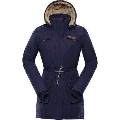 Dámský kabát ALPINE PRO Edite 5 modrá