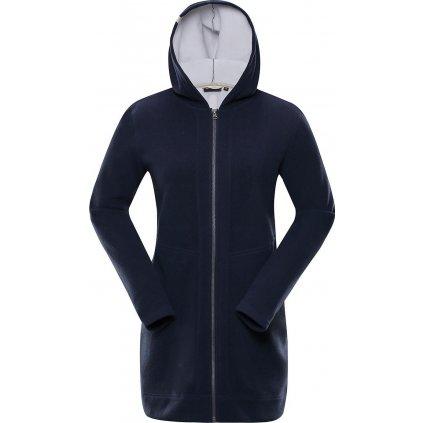 Dámský fleecový kabát ALPINE PRO Midia 2 modrá
