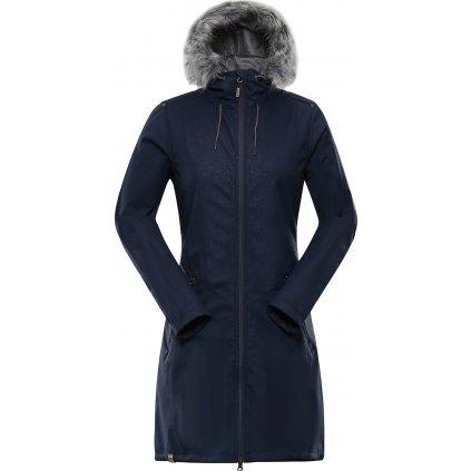 Dámský softshellový kabát ALPINE PRO Priscilla 4 Ins. modrá