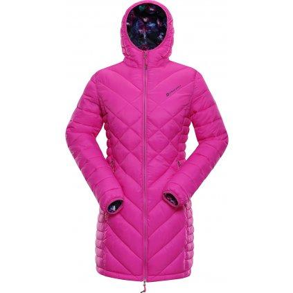 Dámský kabát ALPINE PRO Adrianna 3 růžová