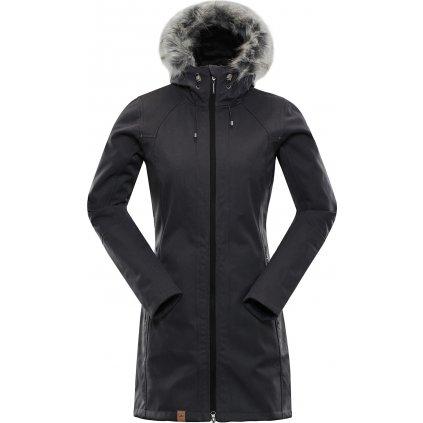 Dámský softshellový kabát ALPINE PRO Priscilla 3 Ins. černá