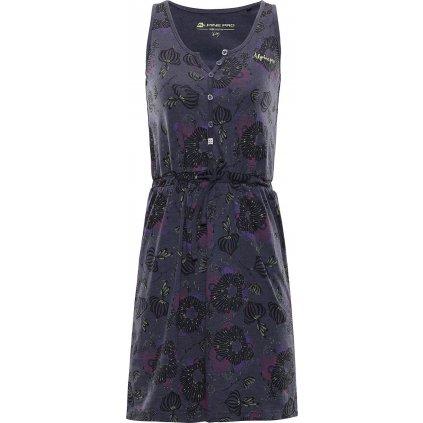 Dětské šaty ALPINE PRO Gogo fialová