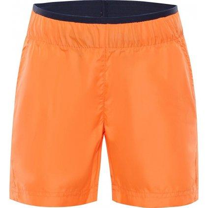 Dětské šortky ALPINE PRO Hinato 2 oranžová