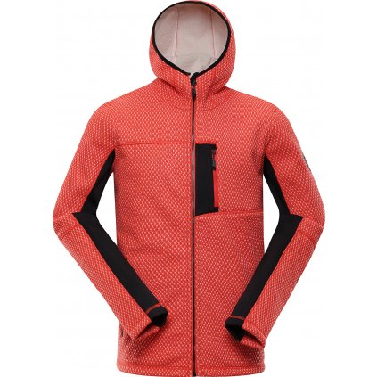 Pánský softshellový svetr ALPINE PRO Alp červená