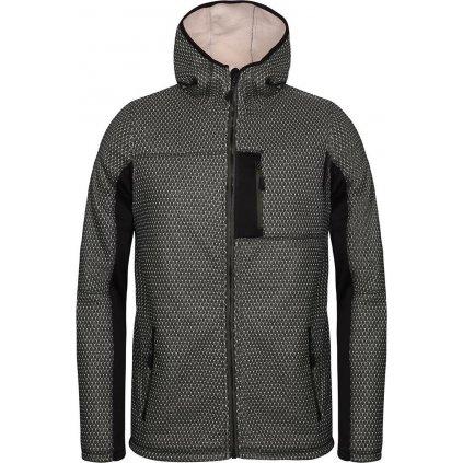 Pánský softshellový svetr ALPINE PRO Alp černá